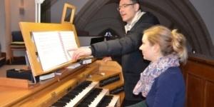 Schnupperunterricht Orgel